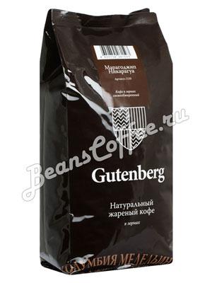 Кофе Gutenberg в зернах Марагоджип Никарагуа 1 кг