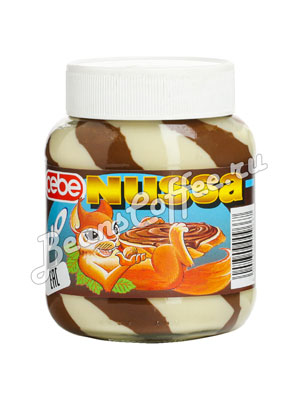 Шоколадная паста Cebe Nussa DUO 400 гр