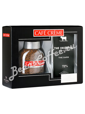 Подарочный набор Cafe Creme и Bucheron The Original горький шоколад