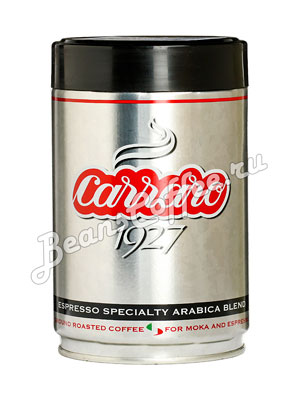 Кофе Carraro молотый 1927 ж.б. 250 гр