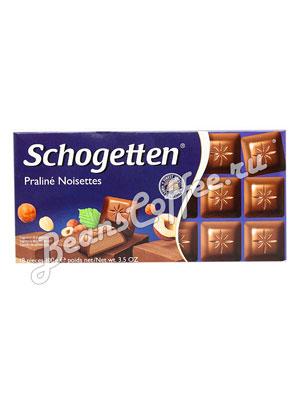 Шоколад Schogetten Praline Noisettes 100 гр