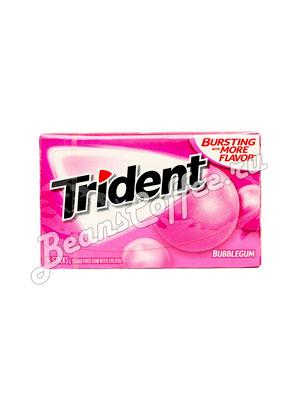 Жевательная резинка Trident Bubblegum