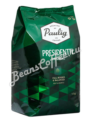 Кофе Paulig Presidentti Original в зёрнах 1 кг