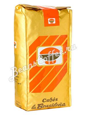 Кофе Cafes la Brasilena Коста-Рика в зернах 1 кг