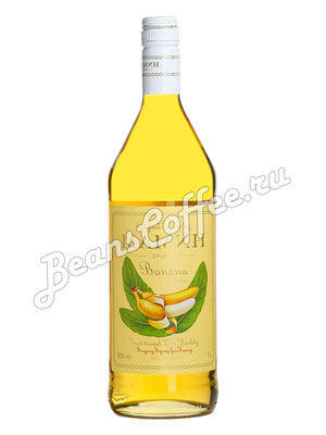 Сироп Мамин рецепт Желтый банан 1 л
